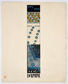 Daphne - Original Lithograph by F. Siméon - 1925