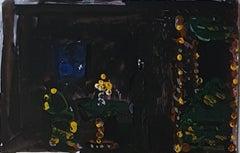 Abstract Composition - Original Tempera by A. Matheos - 1974