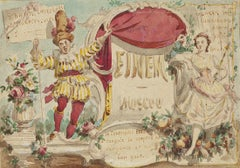 Confectionery - Original Drawing in Watercolor - 20th Century