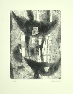 Marittima - Original Etching by E. Paulucci - 1964