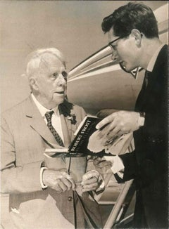 Robert Frost - Original Vintage Photograph - 1962