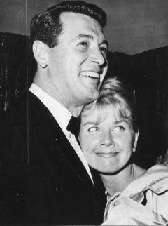 Rock Hudson and Doris Day - Original Vintage Photograph- 1960s