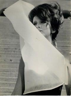 Portrait of Mina - Original Vintage Photograph - 1960s