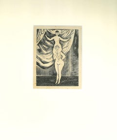 Nudes - Suite of 5 Original Etchings by Leonard Tsuguharu Foujita - 1930s