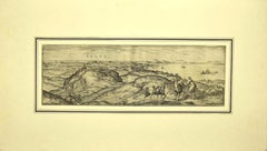 Vegel - Original Etching on Paper by George Braun - Early 17th Century