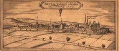 Brula - Original Etching by George Braun - Late 16th Century