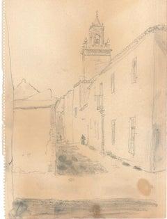 Household - Original Pen on Paper - 1900 ca.