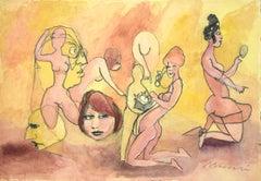 Telephone - Mixed Media by Mino Maccari - 1960s