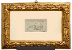 Still Life - Original Pen Drawing by Giorgio Morandi - 1947