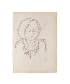 Figure - Original Pencil on Paper - 1960
