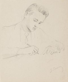Portrait - Original Pencil Drawing - 1949