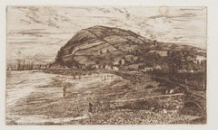 Landscape - Original Etching - 1879