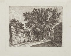 The Forest - Original Etching - 18th Century