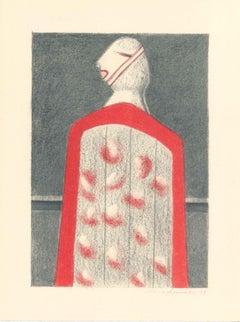 Figure - Original Lithograph by Alfonso Avanessian - 1989