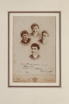 Photo of the Great Comedian - Original Photo by Ermete Novelli - 1887