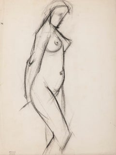 Nude - Original Drawing In Pencil by Jacques Arland - 1920
