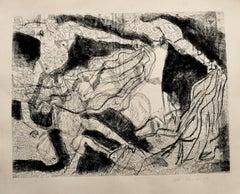 Corrida - Original Etching by Gian Paolo Berto  - 1975