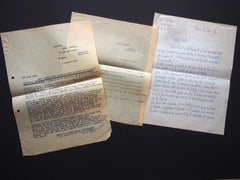 Original Correspondence by L. Gischia to N. Jacometti - 1954-55