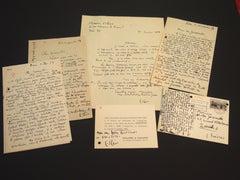 Aladin - Correspondence by Maurice Estève and Nesto Jacometti - 1957/60