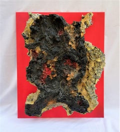 Fragments Of The Planet  - Original Mixed media by Gianluca Foglietta - 2015
