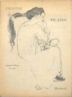 Dessins de Pablo Picasso - Original Drawings by P. Picasso - 1960