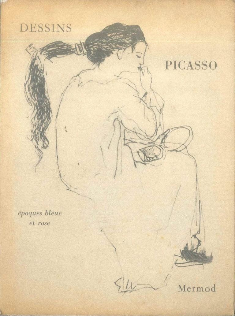 Dessins de Pablo Picasso - Original Drawings by P. Picasso - 1960 - Art by Pablo Picasso