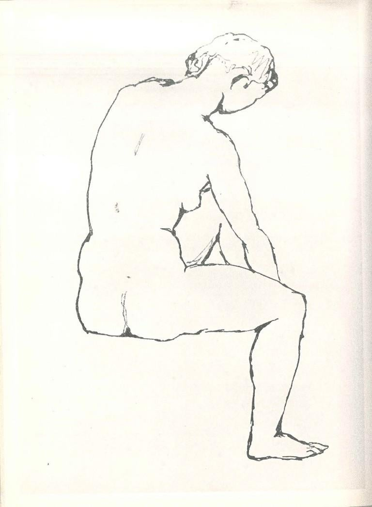 Dessins de Pablo Picasso - Original Drawings by P. Picasso - 1960 - Beige Figurative Art by Pablo Picasso