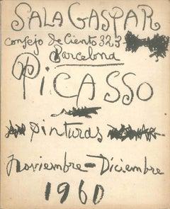 Picasso. 30 cuadros inéditos - Vintage Catalog Sala Gaspar - 1960