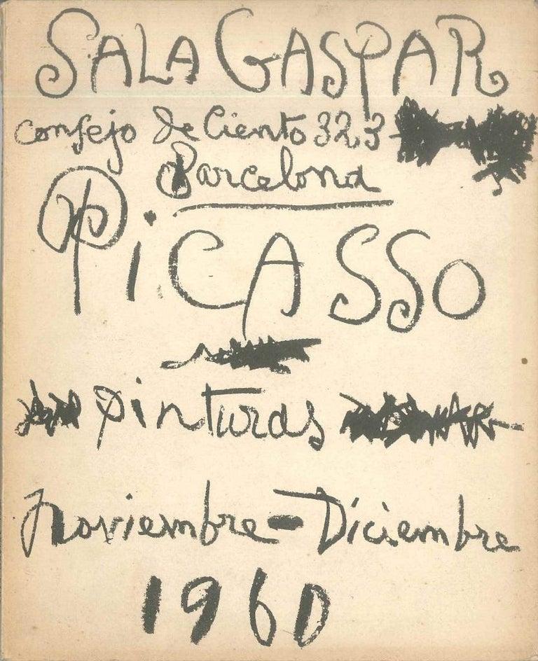 Picasso. 30 cuadros inéditos - Vintage Catalog Sala Gaspar - 1960 - Art by Pablo Picasso