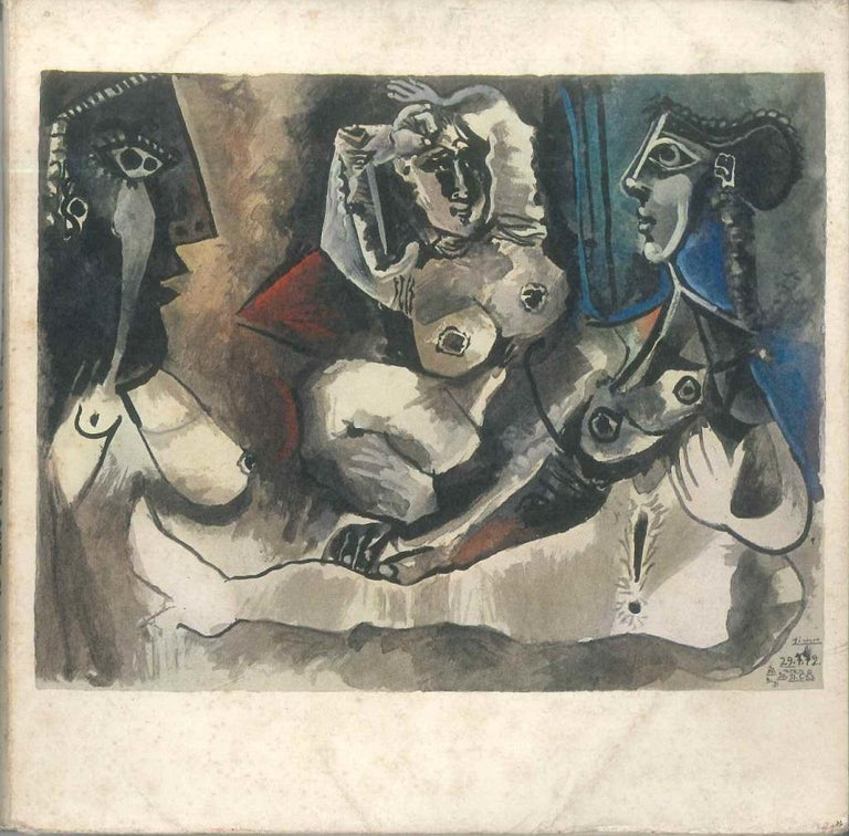 Picasso. 172 dessins - Vintage Catalogue - 1972 - Art by Pablo Picasso