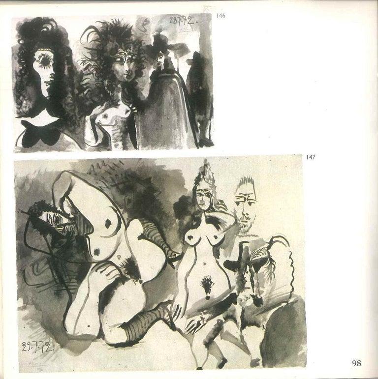 Picasso. 172 dessins - Vintage Catalogue - 1972 - Modern Art by Pablo Picasso