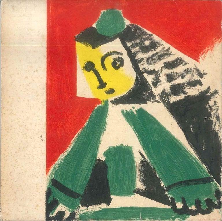 Picasso. Les Ménines 1957 - Original Catalogue by P. Picasso - 1959 - Art by Pablo Picasso