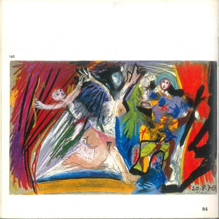 Dessins en Noir et en Couleurs - Original Catalogue by P. Picasso - 1971 - Modern Art by Pablo Picasso
