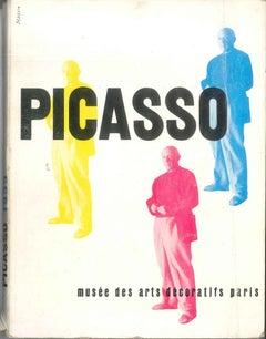 Picasso Musée des Arts Décoratifs - Vintage Catalogue by P. Picasso - 1955