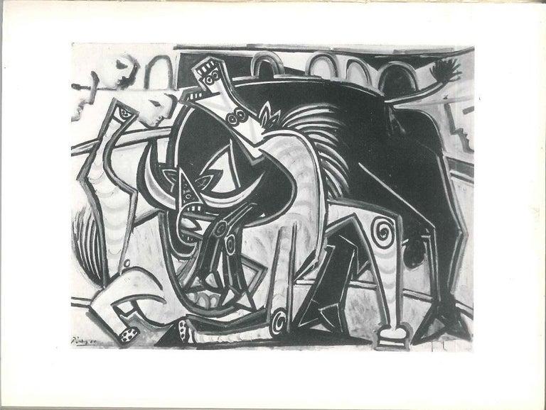 Picasso Musée des Arts Décoratifs - Vintage Catalogue by P. Picasso - 1955 For Sale 1