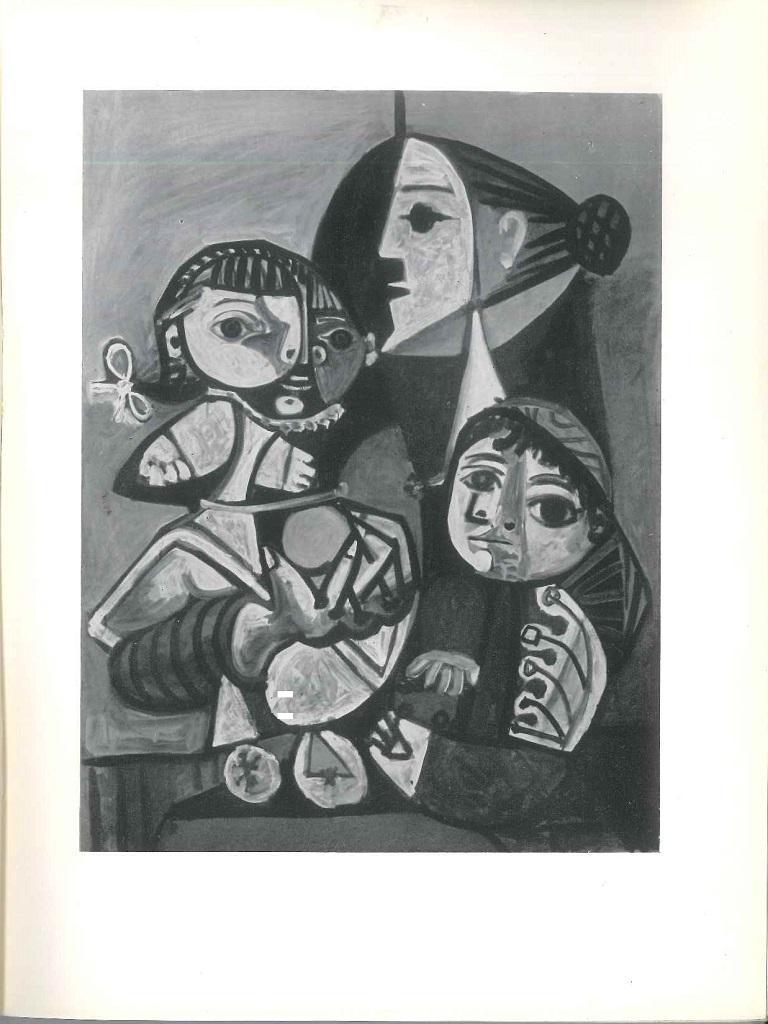 Picasso Musée des Arts Décoratifs - Vintage Catalogue by P. Picasso - 1955 For Sale 2