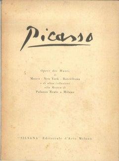 Picasso Opere dei Musei - Vintage Catalogue - 1953
