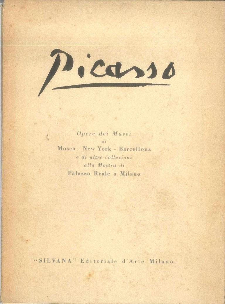 Picasso Opere dei Musei - Vintage Catalogue - 1953 - Art by Pablo Picasso