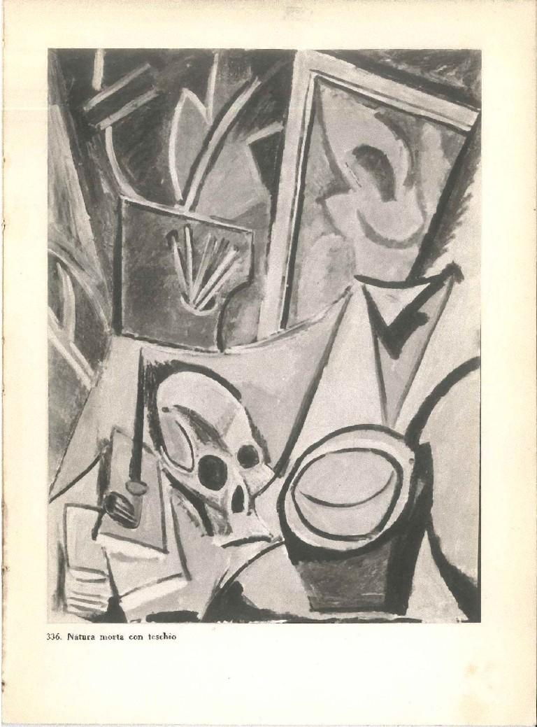 Picasso Opere dei Musei - Vintage Catalogue - 1953 - Modern Art by Pablo Picasso
