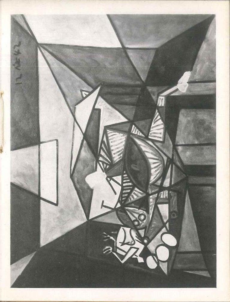 Dix-Neuf Peintures de Picasso - Original Catalogue by P. Picasso - 1946 - Modern Art by Pablo Picasso