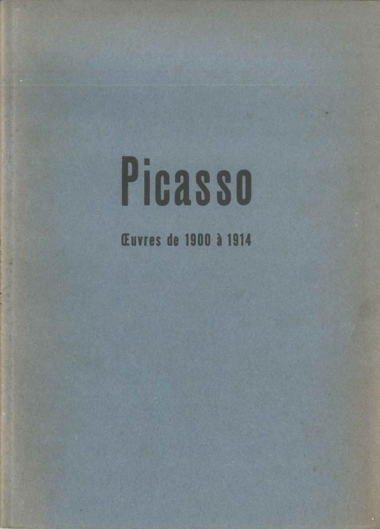 Oeuvres de 1900 à 1914 - 1954 - Art by Pablo Picasso