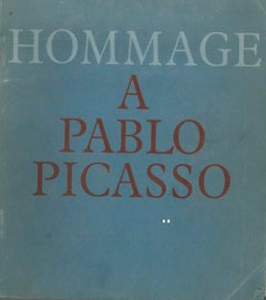 Hommage à Pablo Picasso - Original Catalogue by P. Picasso - 1966