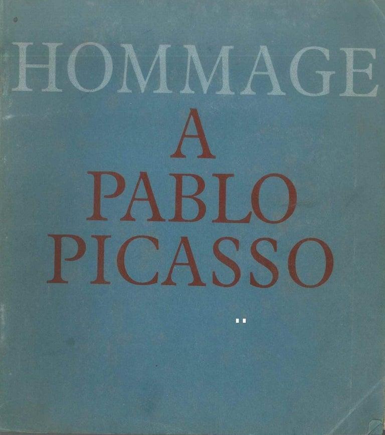 Hommage à Pablo Picasso - Original Catalogue by P. Picasso - 1966 - Art by Pablo Picasso