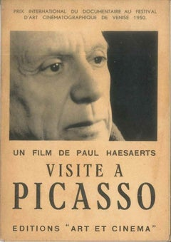 Visite à Picasso [...] - Original Catalogue by P. Picasso - 1950