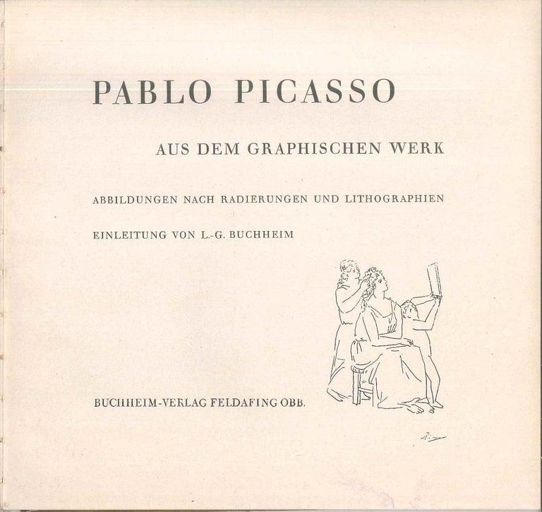 Pablo Picasso aus dem Graphischen Werk - Vintage Catalogue - 1949 - Modern Art by Pablo Picasso