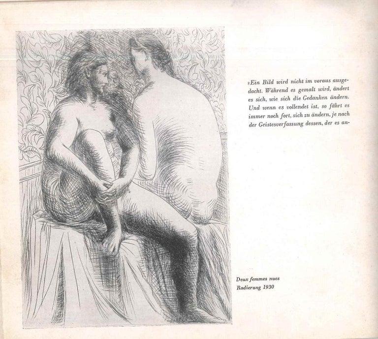 Picasso. Das Graphische Werk - Vintage Caralogue - 1949 - Modern Art by Pablo Picasso