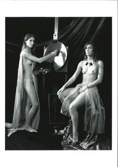Painter - Original b/w Photography by Plinio Martelli - 1990s