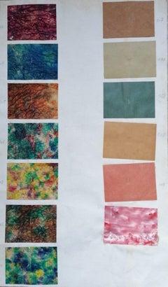 Papiers II - Original Collage - Mid-20th Century