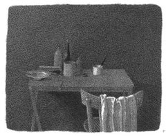 In the Twilight - Original Etching by Gianfranco Ferroni - 1988