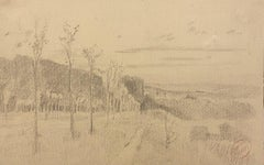 Pencil Landscape Drawings and Watercolours